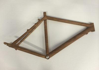 Telaio Bici in legno